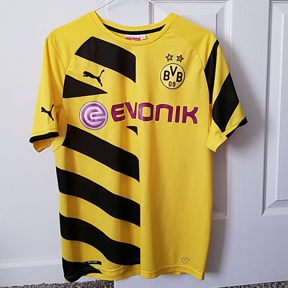 new styles 3c09b a7ec0 2014/2015 Borussia Dortmund Home Shirt